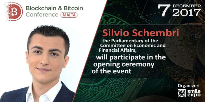 На открытии Blockchain & Bitcoin Conference Malta выступит Сильвио Шембри