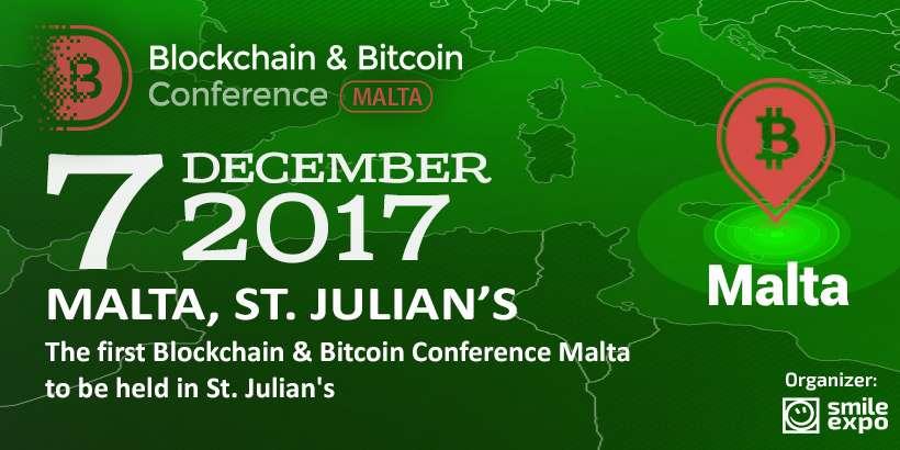 На Мальте пройдет блокчейн-конференция для бизнеса, стартапов и инвесторов